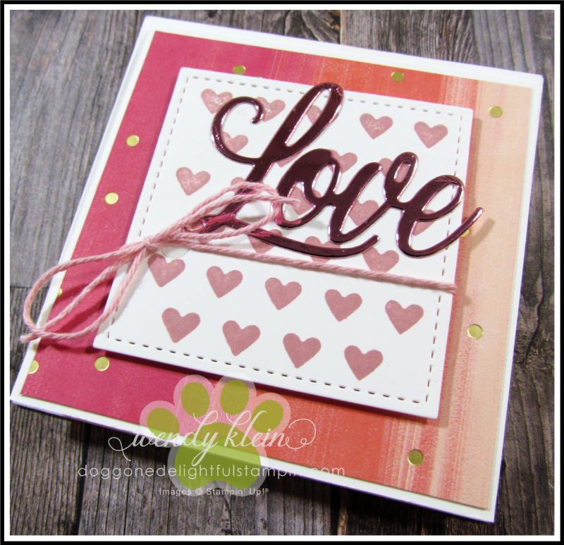 Love You Always Gift Card Box - 9